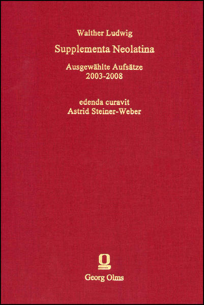 Supplementa Neolatina - Coverbild