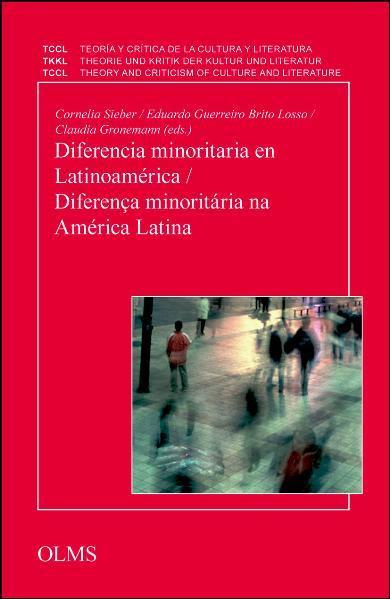 Diferencia minoritaria en Latinoamérica / Diferenca minoritária na América Latina - Coverbild