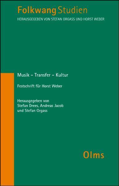Musik - Transfer - Kultur - Coverbild