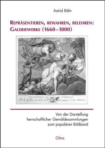 Repräsentieren, bewahren, belehren: Galeriewerke (1660-1800) - Coverbild