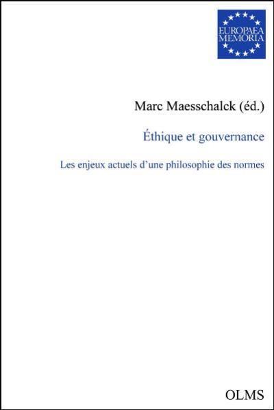 Éthique et gouvernance - Coverbild