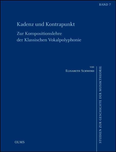 Kadenz und Kontrapunkt. Zur Kompositionslehre der klassischen Vokalpolyphonie - Coverbild