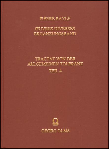 Œuvres diverses - Ergänzungsband - Coverbild