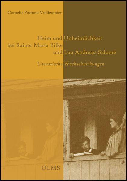 Heim und Unheimlichkeit bei Rainer Maria Rilke und Lou Andreas-Salomé - Coverbild