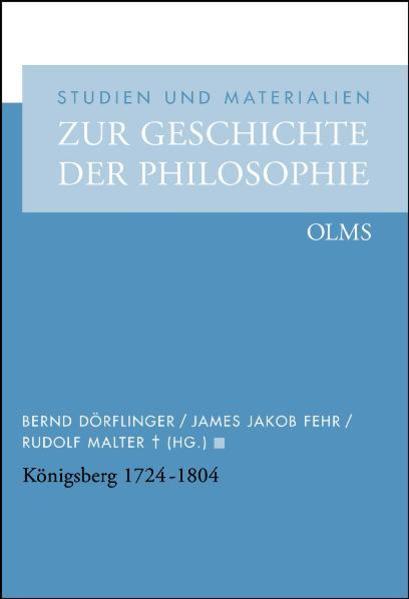Königsberg 1724 - 1804 - Coverbild