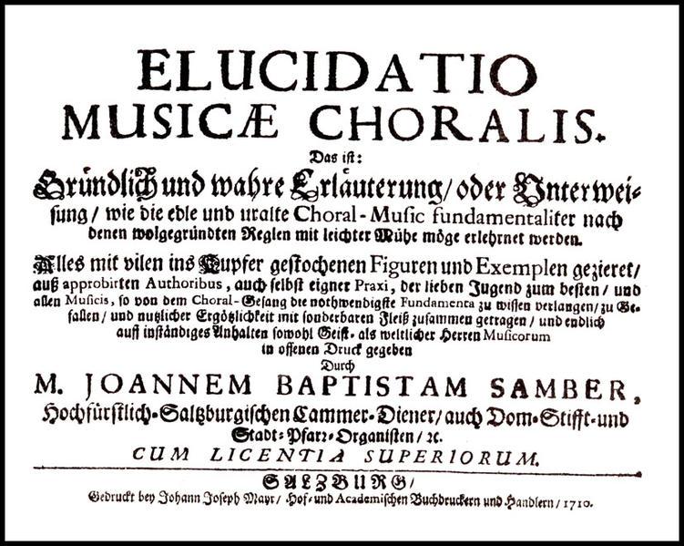 Elucidatio Musicae choralis - Coverbild