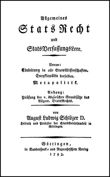 Allgemeines StatsRecht und StatsVerfassungsLere - Coverbild