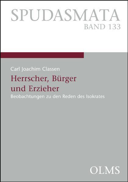 Herrscher, Bürger und Erzieher - Coverbild
