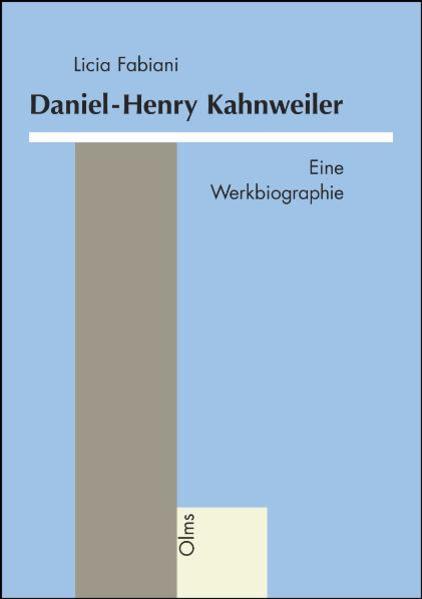 Daniel-Henry Kahnweiler - Coverbild