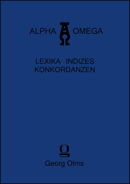 Index verborum in opus quod inscribitur Tà eis heautón - Coverbild