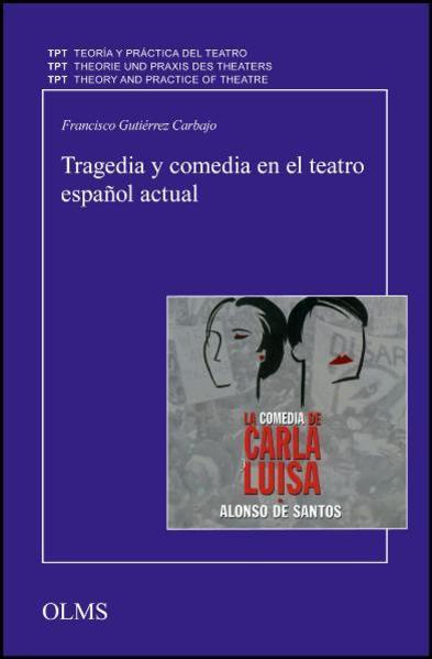 Tragedia y comedia en el teatro español actual - Coverbild