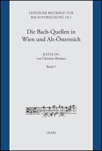 Die Bach-Quellen in Wien und Alt-Österreich: Katalog - Coverbild