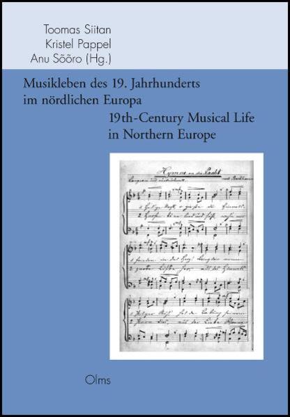 Musikleben des 19. Jahrhunderts im nördlichen Europa / 19th-Century Musical Life in Northern Europe - Coverbild