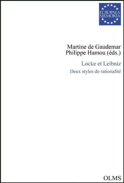 Locke et Leibniz - Coverbild