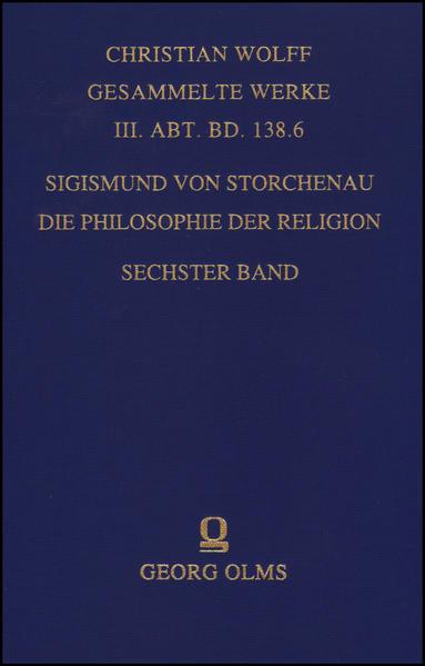 Die Philosophie der Religion. - Coverbild