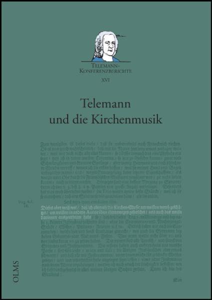 Telemann und die Kirchenmusik - Coverbild