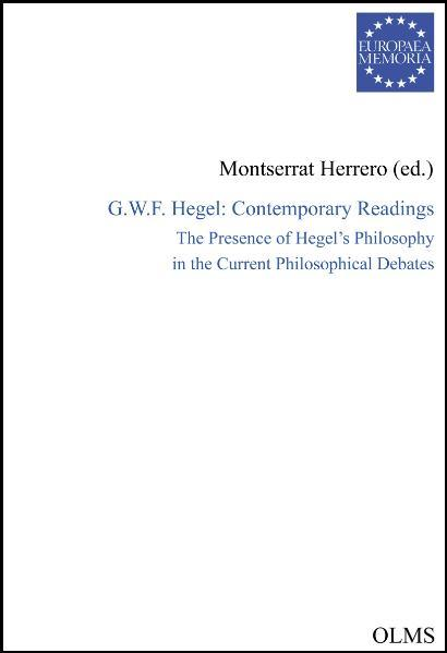 G.W.F.Hegel: Contemporary Readings - Coverbild