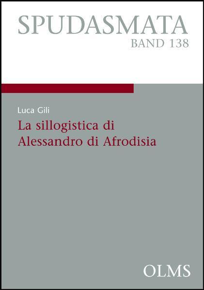 La sillogistica di Alessandro di Afrodisia - Coverbild