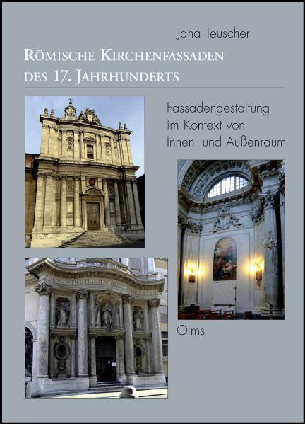 Römische Kirchenfassaden des 17. Jahrhunderts - Coverbild
