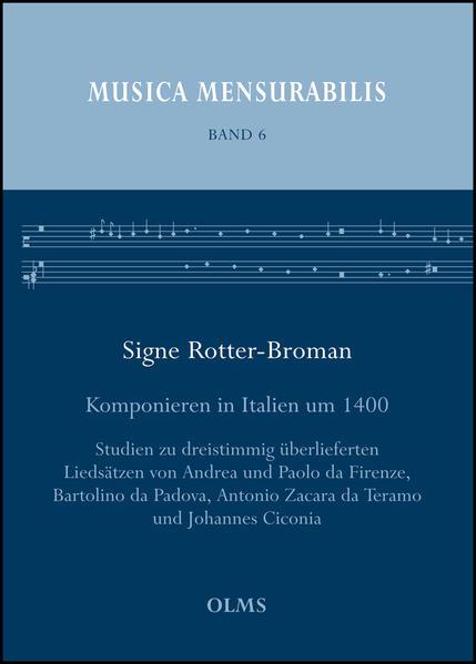 Komponieren in Italien um 1400 - Coverbild