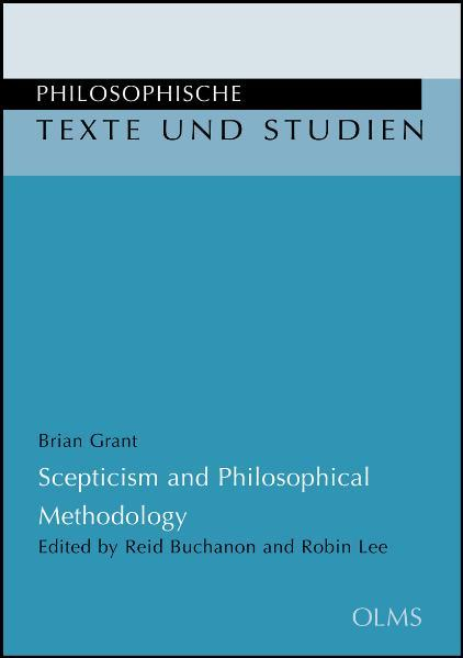 Scepticism and Philosophical Methodology - Coverbild