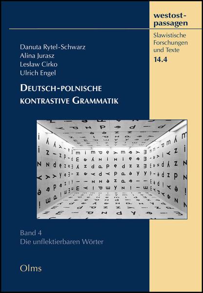 Deutsch-polnische kontrastive Grammatik - Coverbild