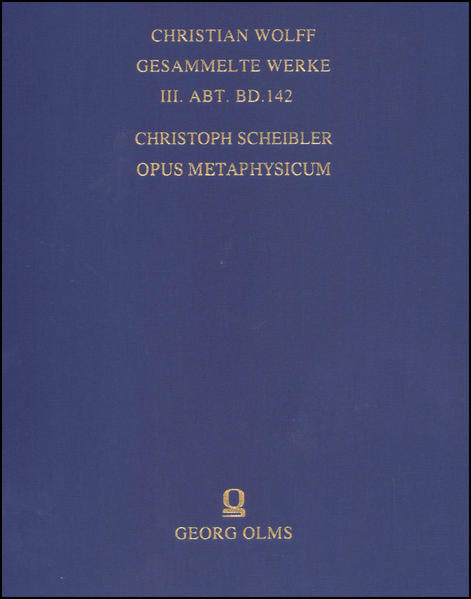 Opus metaphysicum - Coverbild