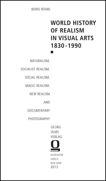 World History of Realism in Visual Arts 1830-1990 - Coverbild