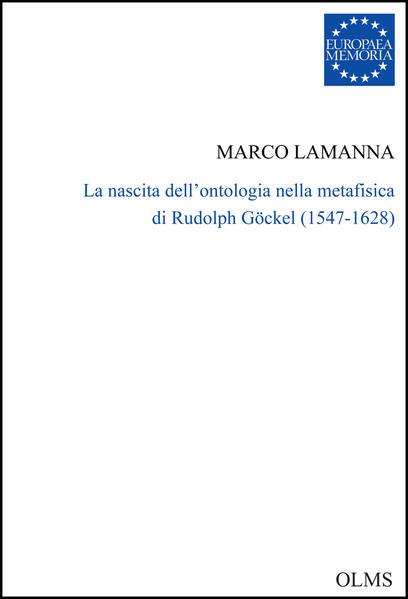 La nascita dell'ontologia nella metafisica di Rudolph Göckel (1547-1628) - Coverbild