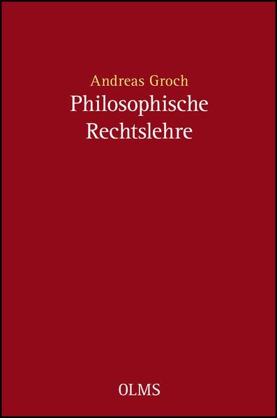 Philosophische Rechtslehre - Coverbild