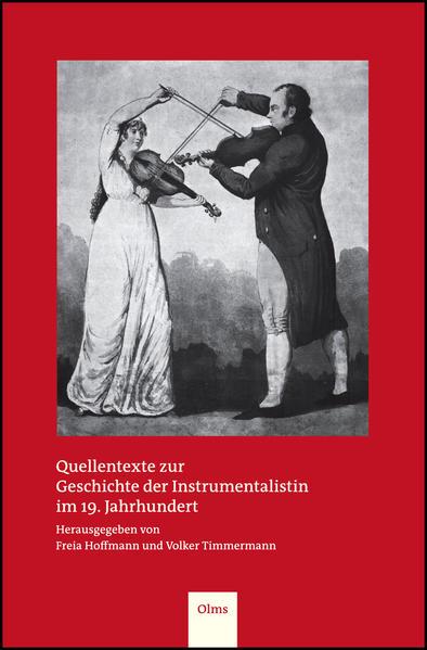 Quellentexte zur Geschichte der Instrumentalistin im 19. Jahrhundert - Coverbild