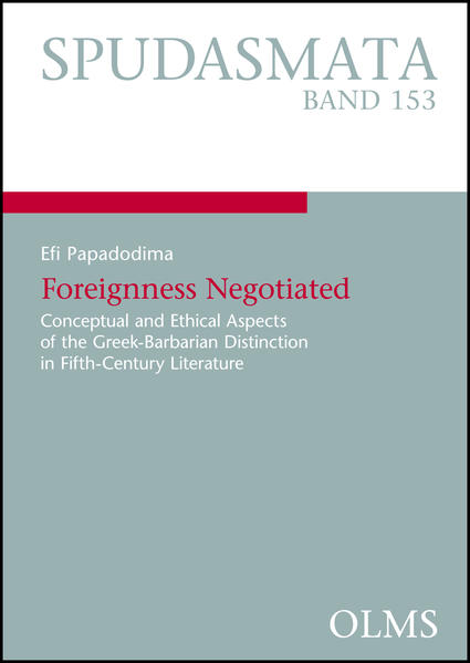 Foreignness Negotiated - Coverbild