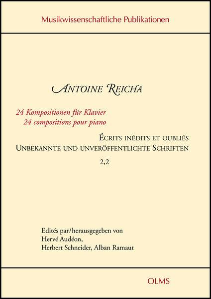 Écrits inédits et oubliés / Unbekannte und unveröffentlichte Schriften - Coverbild