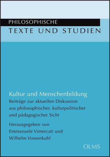 Kultur und Menschenbildung - Coverbild