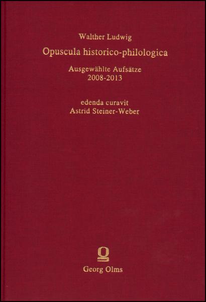 Opuscula historico-philologica - Coverbild