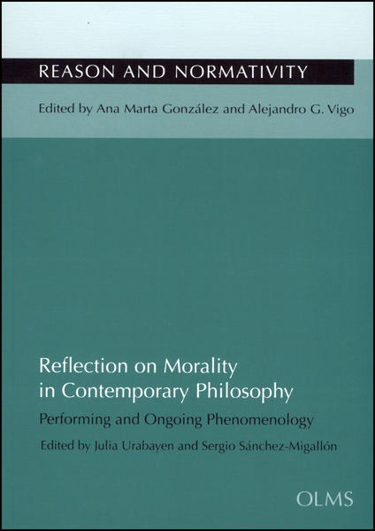 Reflection on Morality in Contemporary Philosophy - Coverbild