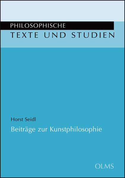 Beiträge zur Kunstphilosophie - Coverbild