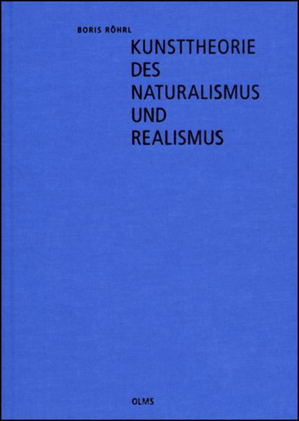 Kunsttheorie des Naturalismus und Realismus - Coverbild