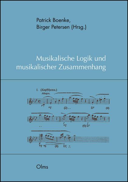 Musikalische Logik und musikalischer Zusammenhang - Coverbild
