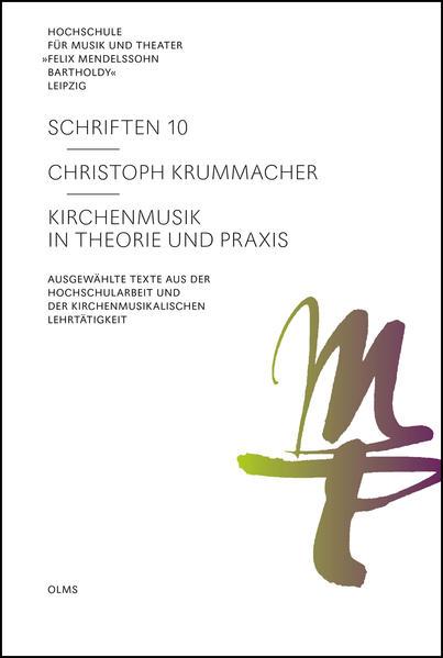 Kirchenmusik in Theorie und Praxis - Coverbild