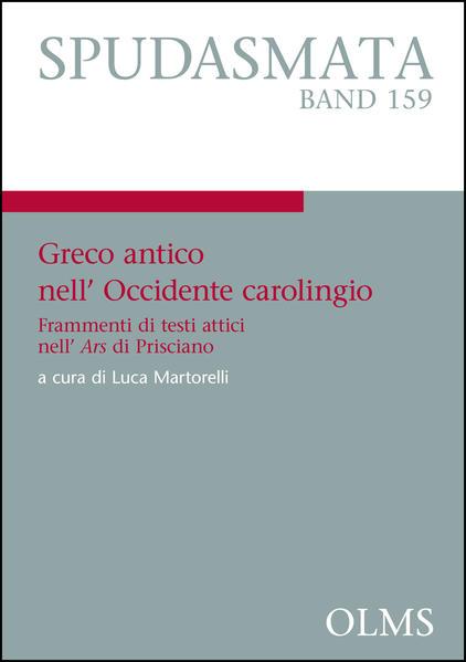 Greco antico nell'Occidente carolingio - Coverbild