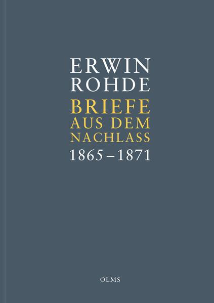 Briefe aus dem Nachlass. Band 1: Briefe zwischen 1865 und 1871 - Coverbild