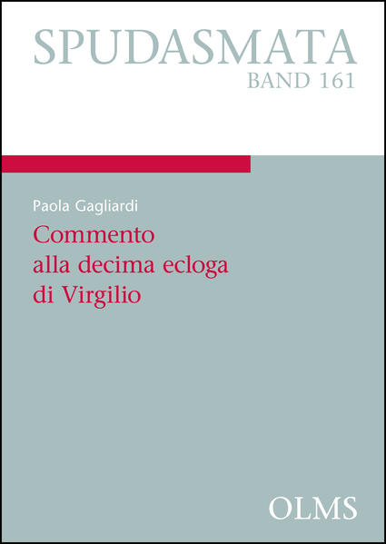 Commento alla decima ecloga di Virgilio - Coverbild
