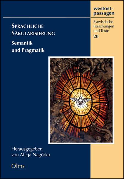 Sprachliche Säkularisierung - Coverbild