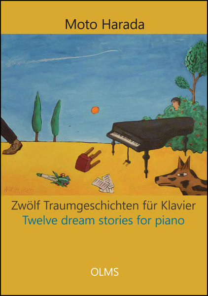 Zwölf Traumgeschichten für Klavier / Twelve dream stories for piano - Coverbild