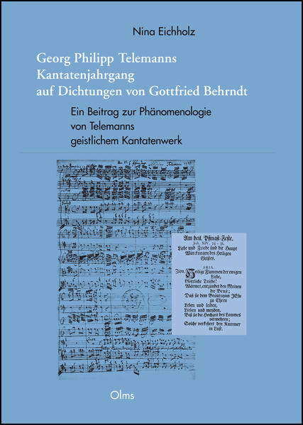 Georg Philipp Telemanns Kantatenjahrgang auf Dichtungen von Gottfried Behrndt - Coverbild