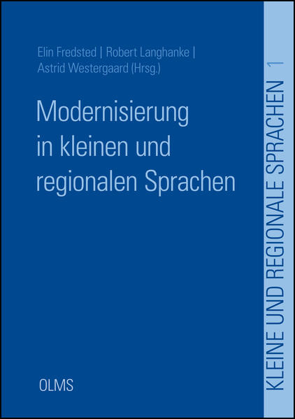 Modernisierung in kleinen und regionalen Sprachen - Coverbild