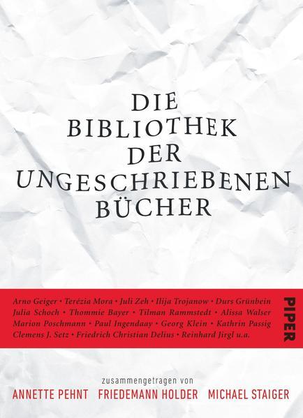 Die Bibliothek der ungeschriebenen Bücher - Coverbild