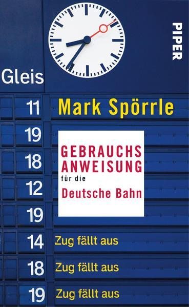 Gebrauchsanweisung für die Deutsche Bahn - Coverbild