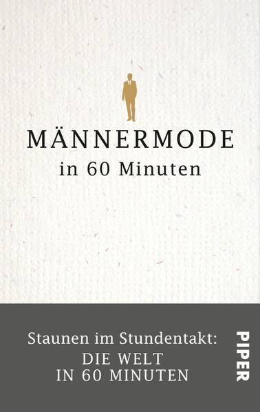 Männermode in 60 Minuten - Coverbild